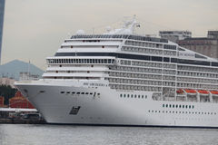 20,000 tourists disembark from transatlantic ships in Rio de Jan Stock Photography