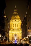 Christmas Spirit in Budapest Stock Photography