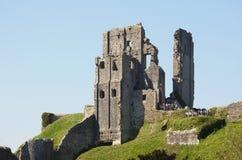 Corfe Castle, Corfe, Dorset UK. May 2018. royalty free stock image