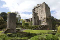 Tourists explore Blarney Castle and Grounds, Blarney Stock Photo