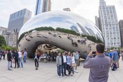 Tourists flock to Stock Images