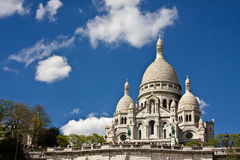 Visiting the Sacré-Coeur Royalty Free Stock Images