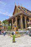 Tourists in Grand Palace, Bangkok Stock Image