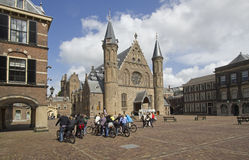 Tourists in The Hague royalty free stock images