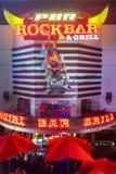 Tourists having dinner in Vegas Stock Photo