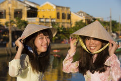 Tourists in Hoi An Stock Photography