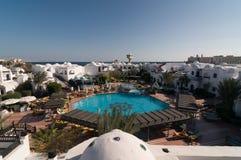 Tourists at Hurghada hotel Stock Photos