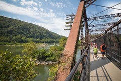 Free Tourists In Harper S Ferry, West Virginia Royalty Free Stock Photo - 77358865
