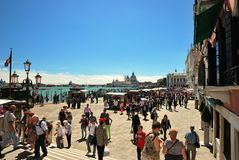 Free Tourists In Venice Stock Images - 33245214