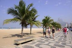 Tourists in Ipanema, Rio de Janeiro Stock Images