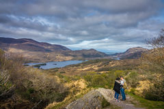 Tourists in the Killarney National Park Stock Images