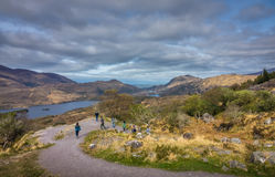 Tourists in the Killarney National Park Stock Photo