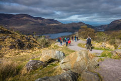 Tourists in the Killarney National Park Stock Photography