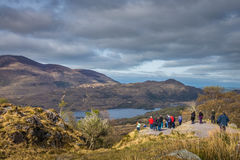 Tourists in the Killarney National Park Royalty Free Stock Images
