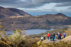 Tourists in the Killarney National Park Stock Photos