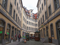 Tourists in Leipzig Germany Stock Photos