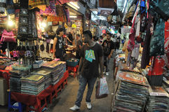 Tourists and Locals Shop at Chatuchak Market Royalty Free Stock Photo