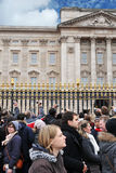 Tourists in London Royalty Free Stock Photography