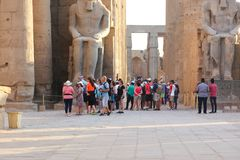 Temple of Luxor - Egypt Stock Photos