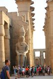 Temple of Luxor - Egypt Royalty Free Stock Photos
