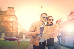 Tourists Stock Photography