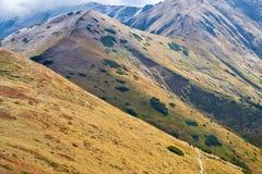 Trail Tatra Mountains Carpathians Landscape Royalty Free Stock Images