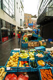 Tourists in open market, Dublin Royalty Free Stock Images