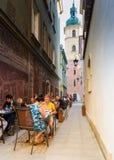 Warsaw Old Town, Poland Royalty Free Stock Photo