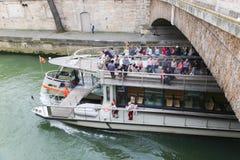 Tourists at Paris Stock Images