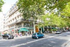 Tourists in Paris Stock Photos