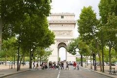 Tourists - Paris Stock Images