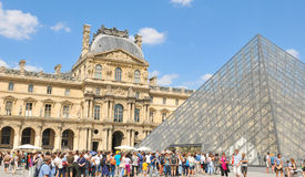 Tourists in Paris Stock Image
