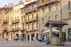 Piazza Grande - Arezzo Royalty Free Stock Photos