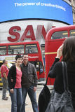 Tourists in Piccadilly Circus, 2010 Stock Image