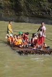Tourists on a Raft