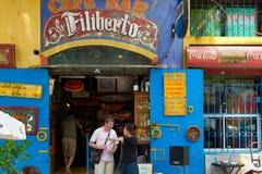 Buenos Aires, La Boca, Bar, Restaurant, Tango Club in La Boca, Buenos Aires, Argentina royalty free stock photos