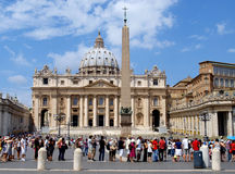 Tourists in Rome Royalty Free Stock Photo
