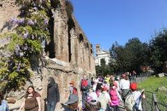 Tourists at Rome Stock Photos