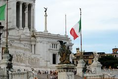 Tourists in Rome city on May 29, 2014 Royalty Free Stock Photos