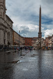 Tourists Rome Royalty Free Stock Photography