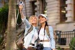 Tourists self portrait Stock Photos