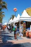 Tourists shops, Benalmadena. Royalty Free Stock Image