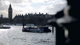 Tourists at Southbank London stock video footage