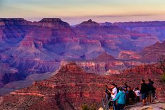 Sunset of Yavapai Point, Grand Canyon