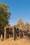 Tourists at the temple complex of Angkor Wat Royalty Free Stock Image