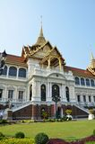 Tourists travel to Wat Phra Kaew and Grand Palace in Bangkok, Th Royalty Free Stock Photography