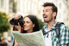Tourists Stock Photos