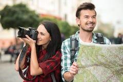 Tourists Royalty Free Stock Photo