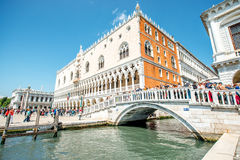 Tourists in Venice Stock Photography