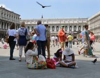 Tourists at Venice Stock Photography